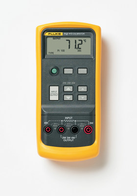 The 714B Thermocouple Temperature Calibrator measures and simulates 17 different thermocouple types as well as millivolts to verify process sensors by direct comparison of measured versus reported temperatures. It allows instrument, process, and plant maintenance technicians to quickly and easily test process temperature instrumentation.