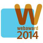 2014 WebAward Logo.  (PRNewsFoto/Web Marketing Association)