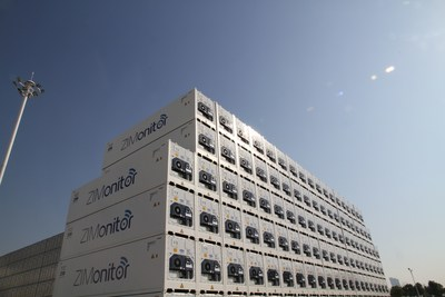 ZIM's new ZIMonitor container fleet