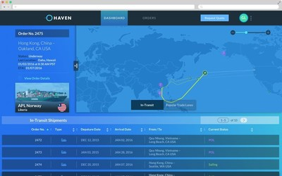 Haven's Track & Trace Dashboard