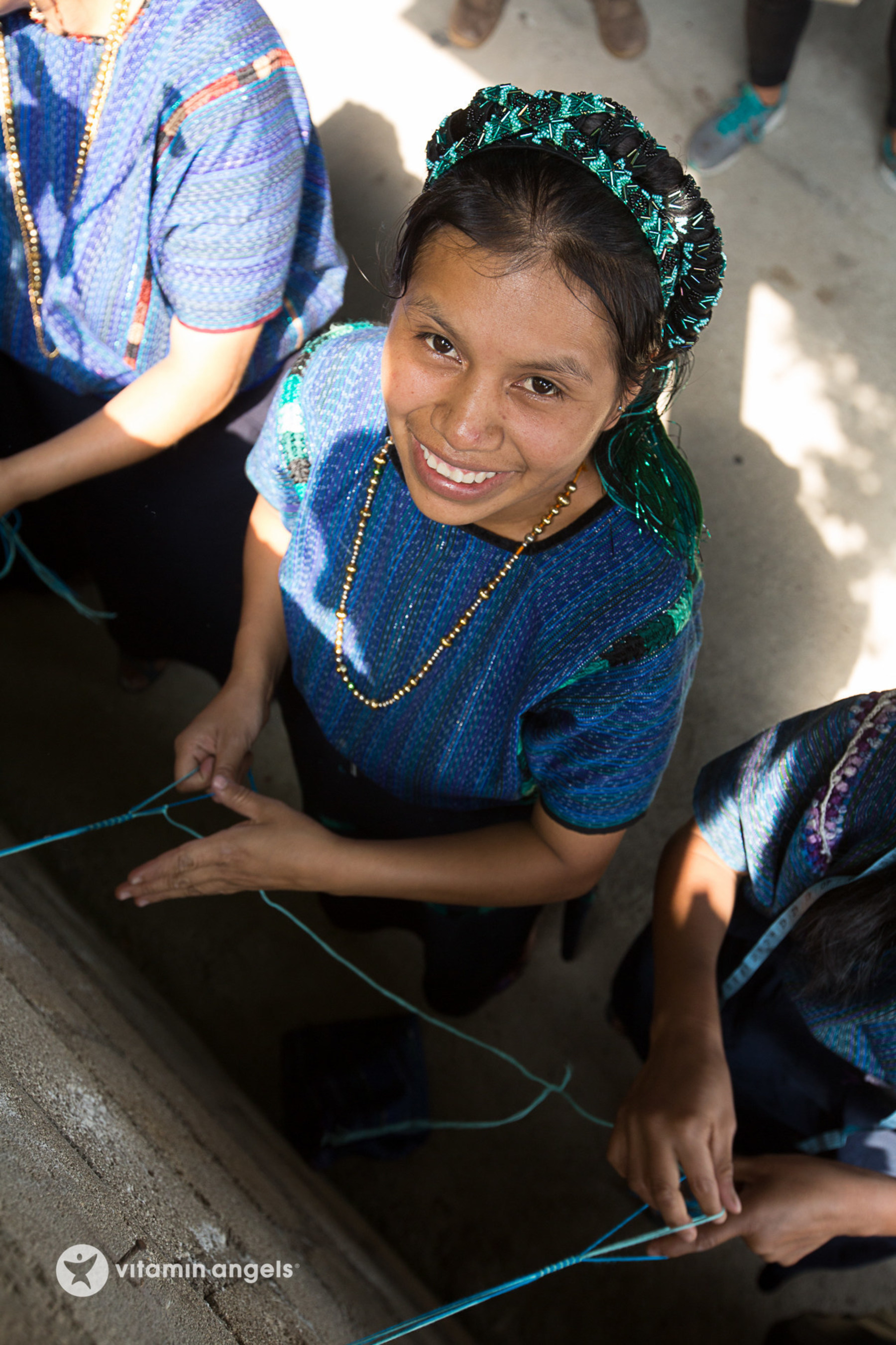 The Vitamin Shoppe is teaming up with Mayan Families, a Guatemalan organization, to offer handmade friendship bracelets. Mayan Families enlisted the help of 100 women, including many who have benefited from Vitamin Angels' vitamins, to make bracelets for the campaign.