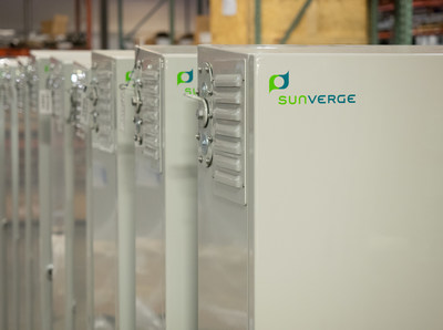 New Sunverge AC-Coupled energy storage systems for residences and small businesses