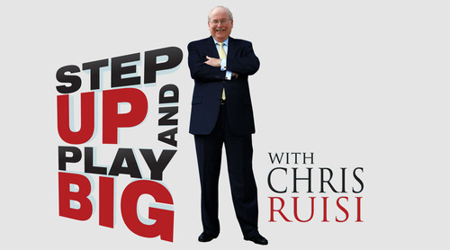Join Chris Ruisi on Voice America's Business Channel on January 8th, 2014 at noon EST for the launch of his new radio show Step Up And Play Big.  (PRNewsFoto/Chris Ruisi)