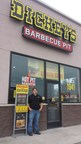 Landon Wiser outside his Dickey's Barbecue Pit in Hermantown. The first location to the area celebrates with a three day grand opening.