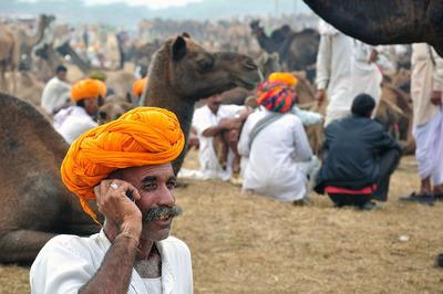 A camel trader in India, by Rabin Chakrabarti. (PRNewsFoto/CGAP) (PRNewsFoto/CGAP)