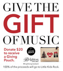 BRIGHTON IS GIVING THE GIFT OF MUSIC TO KIDS