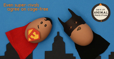 Even super-rivals agree on cage-free.