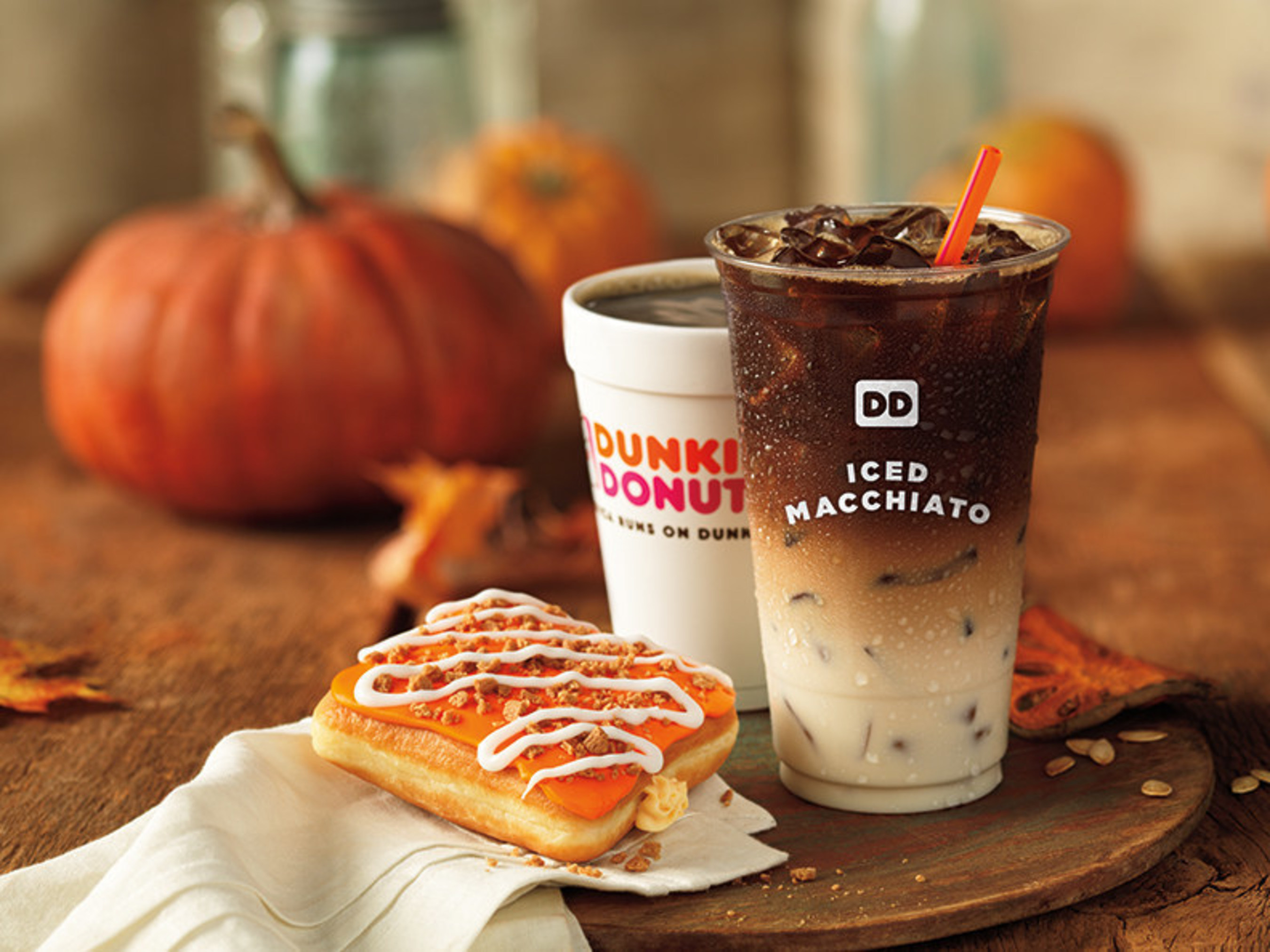 Macchiato On The Menu At Dunkin' Donuts