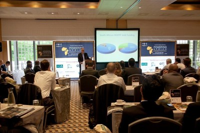 Delegates attend a session at one of Energynet's Powering Africa meetings