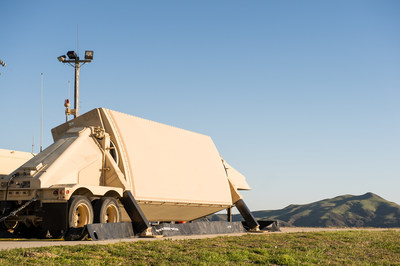 A critical element in the ballistic missile defense system, Raytheon's AN/TPY-2 continually searches the sky for ballistic missiles.