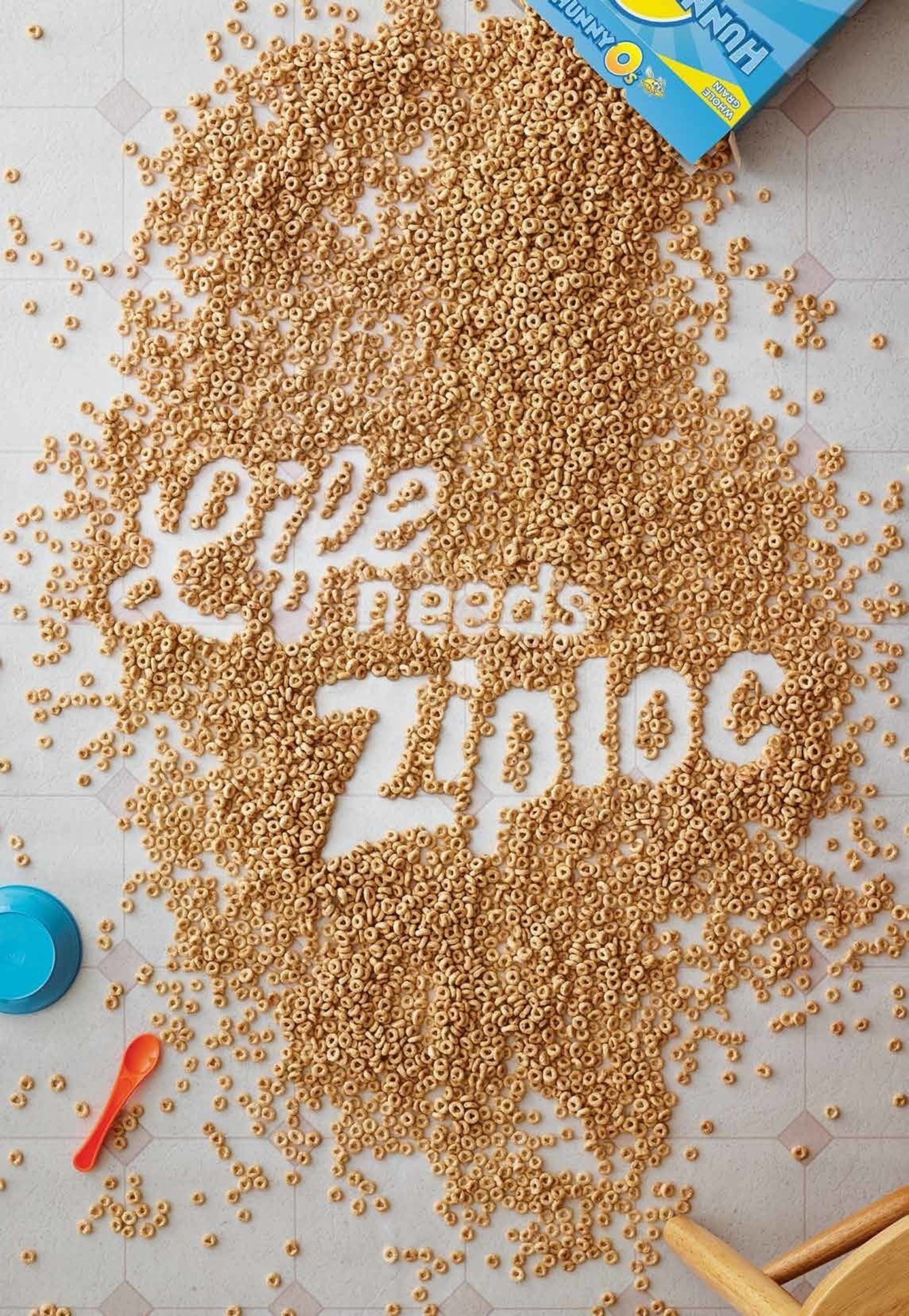 "The Ziploc(R) brand negative space posters are part of this year's ""Chaos Comes to Life"" campaign."