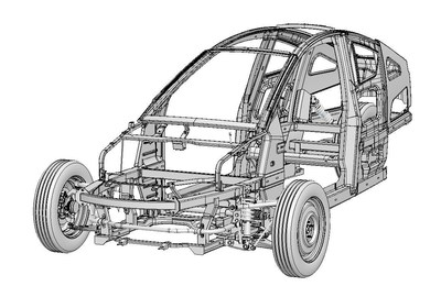 Elio Motors Completes Final Stage of Engineering for E-Series Vehicles with Chassis Design