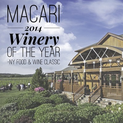 Macari Vineyards: Winery of the Year 2014, North Fork, NY