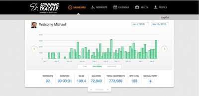 Spinning® Launches Mobile App For Complete Fitness Tracking