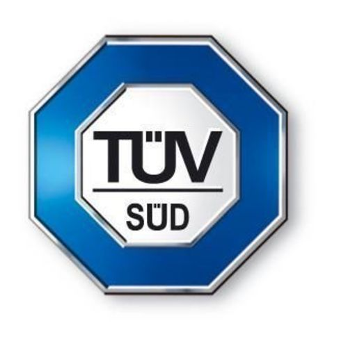 TÃœV SÃœD South Asia Logo (PRNewsFoto/Tï?½V Sï?½D South Asia)