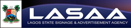 Logo. (PRNewsFoto/Lagos State Signage & Advertisement Agency (LASAA)) (PRNewsFoto/LAGOS STATE SIGNAGE)