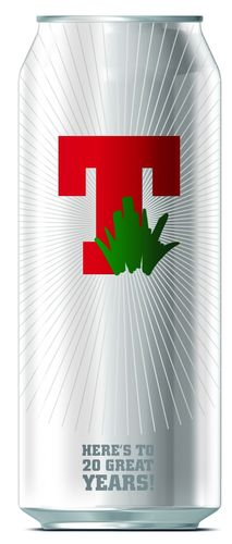 Tennent's Toasts T in the Park Milestone with Limited Edition Can