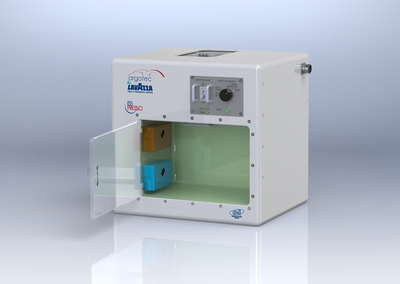 ISSpresso, the first capsule-based espresso system for space. (PRNewsFoto/Lavazza)