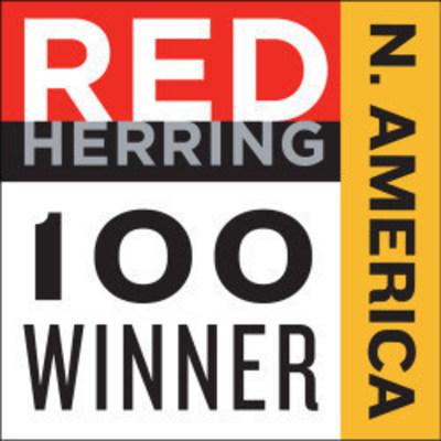 Red Herring Top 100 North America Winner logo