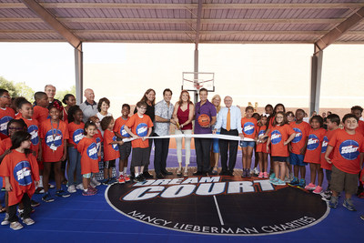 WorldVentures gifts new DreamCourt to Boys & Girls Clubs Collin County Plano Branch; in partnership with Nancy Lieberman Charities, WorldVentures Foundation and NexCourt Sport Court. Approximately 300 kids visit this combination community center and Boys & Girls Club each day.