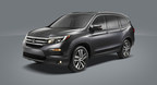 All-New 2016 Honda Pilot Makes World Debut and Redefines the Midsize, Three-Row SUV at 2015 Chicago Auto Show