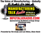 Manufacturing Talk Radio Reuter's Sign Times Square PR Newswire Institute of Supply Management Report on Business (PRNewsFoto/Manufacturing Talk Radio)