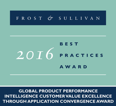 Siemens PLM Software Receives 2016 Global Product Performance Intelligence Customer Value Excellence through Application Convergence Award