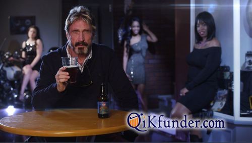 John McAfee the real most interesting man in the world (PRNewsFoto/Future Tense Systems)