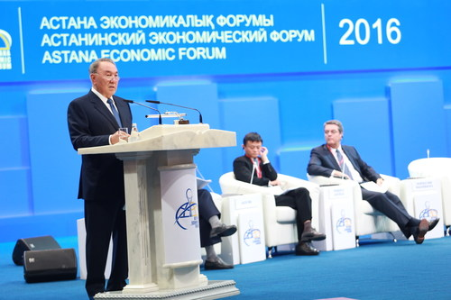 The Plenary session at Astana Economic Forum, May 25-26, 2016 RW-   azel.kussainova@gmail.com ...