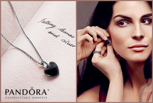 Pandora Launches Contemporary Black Onyx Heart Jewelry