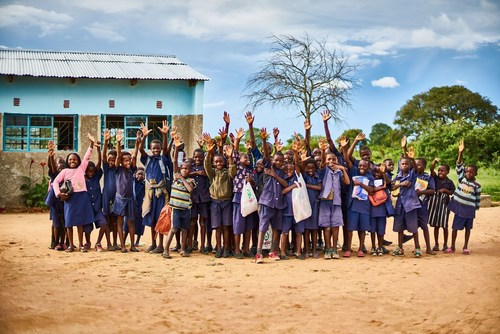 School children Natural Light Copyright VELUX Group (PRNewsFoto/VELUX Group)