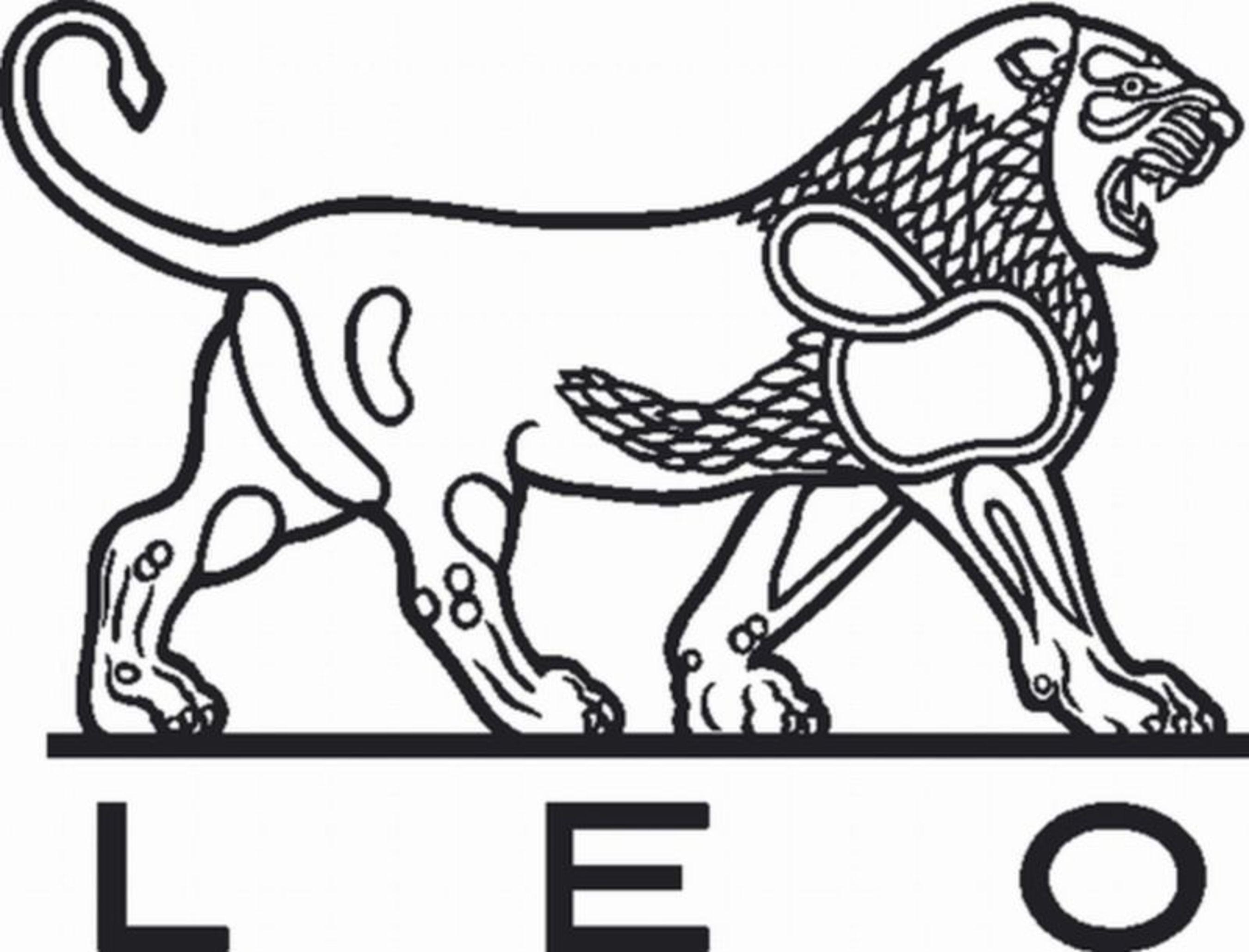 Leo Pharma Logo (PRNewsFoto/Leo Pharma A/S)