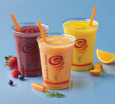 Jamba Juice - Fresh Squeezed Juices.  (PRNewsFoto/Jamba Juice Company)