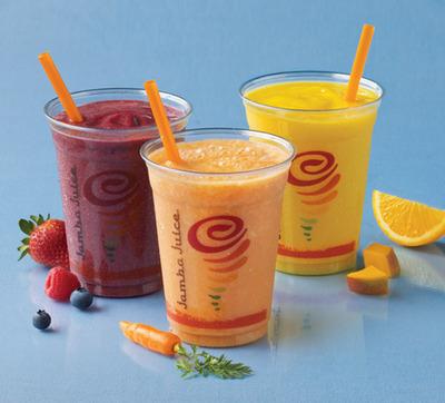Jamba Juice - Fresh Squeezed Juices.  (PRNewsFoto/Jamba Juice Company)