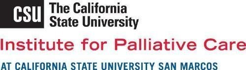 California State University Institute for Palliative Care logo (PRNewsFoto/California State University Inst)
