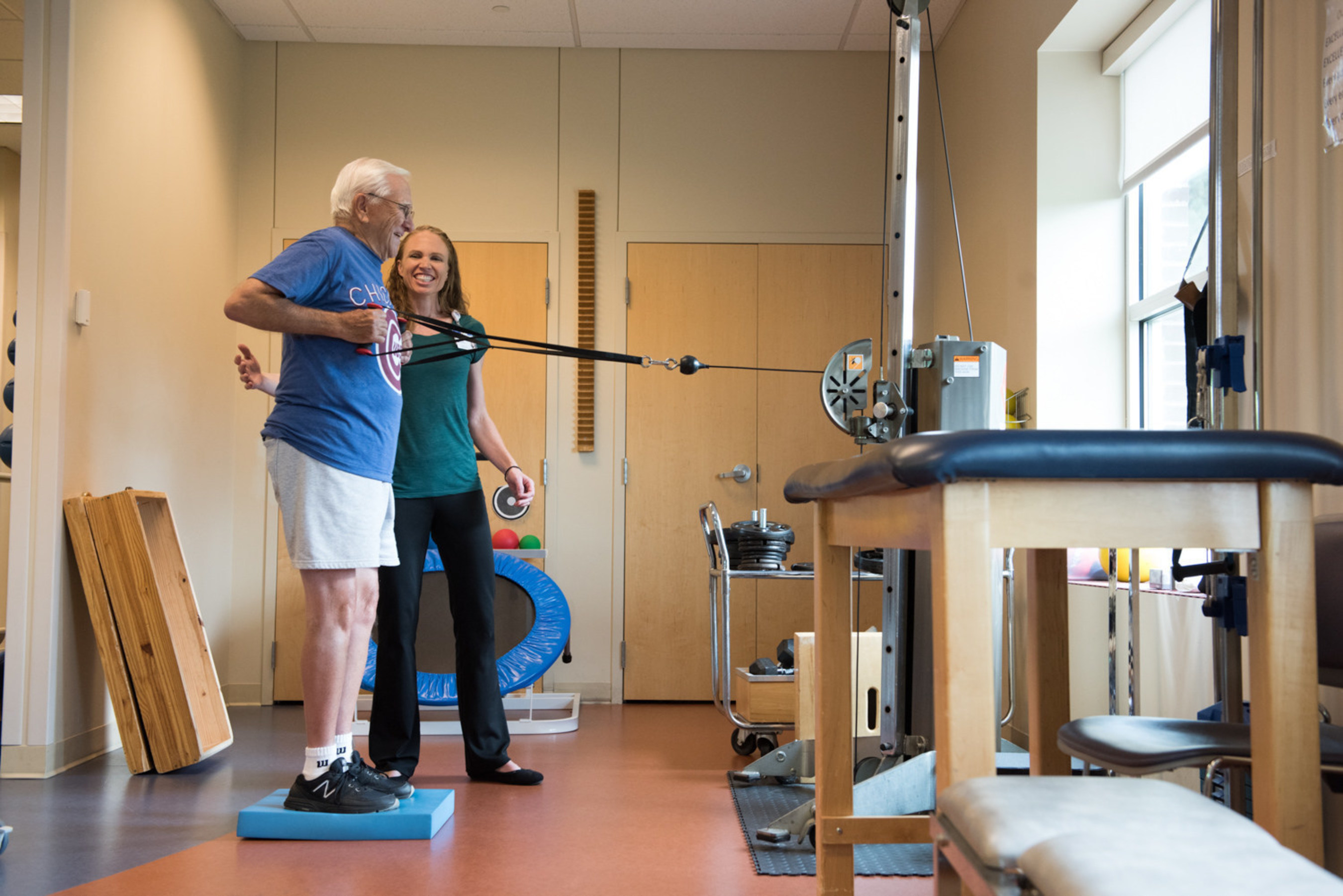 Northwestern Medicine Delnor Health & Fitness Center has been renewed as a Certified Medical Fitness Facility by the Medical Fitness Association.