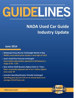 National Automobile Dealer S Association Used Car Guide