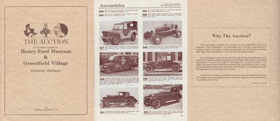 """The Ford Pilot Model GP-No. 1 """"Pygmy"""" was sold at auction by The Henry Ford Museum in 1982.  At the time they might not have known it was the oldest surviving """"jeep.""""  Today, the Henry Ford Museum displays a 1943 Willys-Overland Model MB and GP-No. 1 is on display at the U.S. Veterans Memorial Museum in Huntsville, Ala. - thankfully in good hands."""