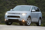 Mitsubishi Motors' 2014 Outlander & Outlander Sport Earn Coveted Insurance Institute for Highway Safety (IIHS) 2014 Top Safety Pick Awards, Offering Consumers the Safest Crossover Model Lineup in America.  (PRNewsFoto/Mitsubishi Motors North America, Inc.)