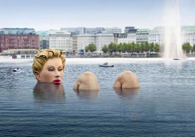 British Beauty Brand Soap & Glory Sponsors 'One of a Kind' Art Project.  (PRNewsFoto/Soap & Glory, Bertold Fabricius)