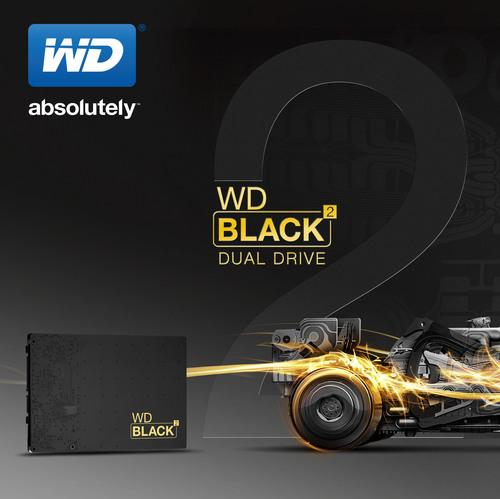 WD(R) Debuts World's First SSD+HDD Dual Drive.  (PRNewsFoto/WD)