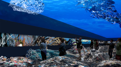 SEA CREATURES by Paul Hunt: A multimedia installation art project that addresses the disappearance of coral reefs. You can make this project happen now at http://www.kickstarter.com/projects/526190863/sea-creatures.  (PRNewsFoto/Paul Hunt)