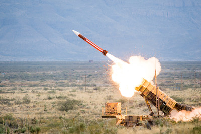 Patriot is a long-range, high altitude, all-weather air and missile defense solution that has been rigorously tested more than 2,500 times with U.S. Army oversight under real-world conditions.