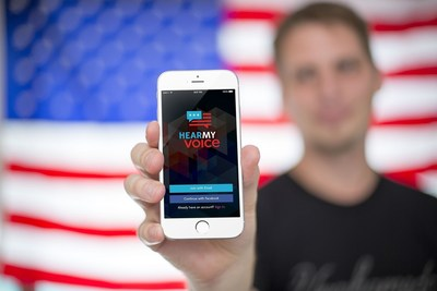 New civic engagement platform Hear My Voice becomes most convenient way to register to vote this election.