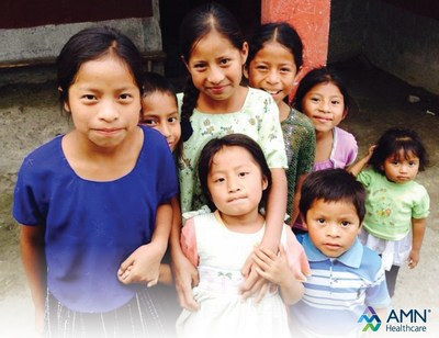 Children of the Guatemala highlands are among the main recipients of support from Team Esperanza, which helps more than a thousand people in its one-week mission.
