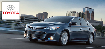 Hesser Toyota will add the 2014 Toyota Avalon to its new inventory.  (PRNewsFoto/Hesser Toyota Scion)
