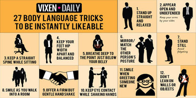 27 Body Language Tricks To Be More Likeable