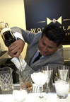 Santos Mercedes Enriquez of Celebrity Cruises during the Diageo Global Travel World Class Final (PRNewsFoto/Diageo Global Travel)