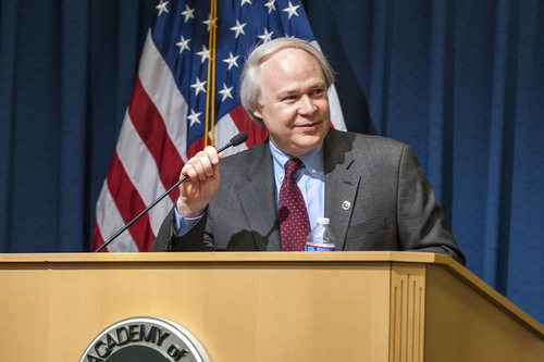 U.S. Deputy Commissioner for Patent Operations Andrew Faile. (PRNewsFoto/National Academy of Inventors) ...