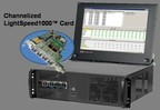 "GL's Channelized LightSpeed1000â""¢ card (PRNewsFoto/GL Communications Inc.)"